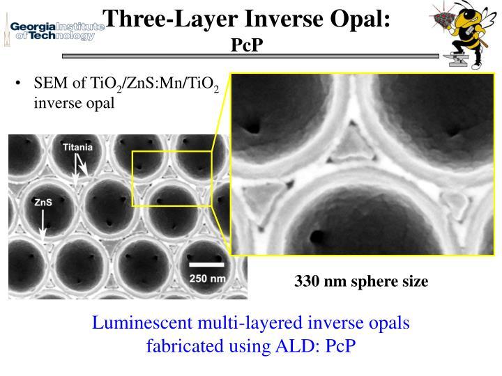 Three-Layer Inverse Opal: