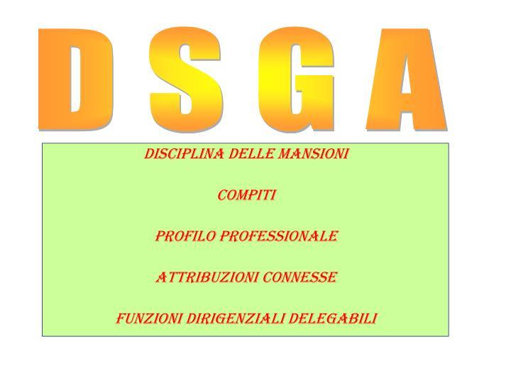 D S G A