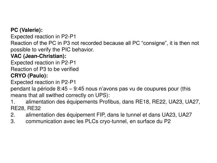 PC (Valerie):