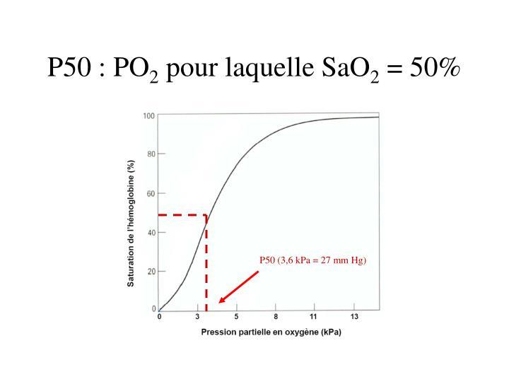 P50 : PO