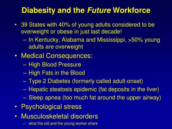 Diabesity and the