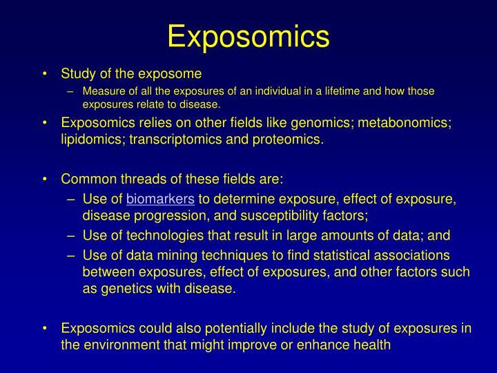 Exposomics