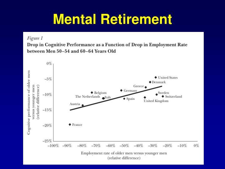 Mental Retirement
