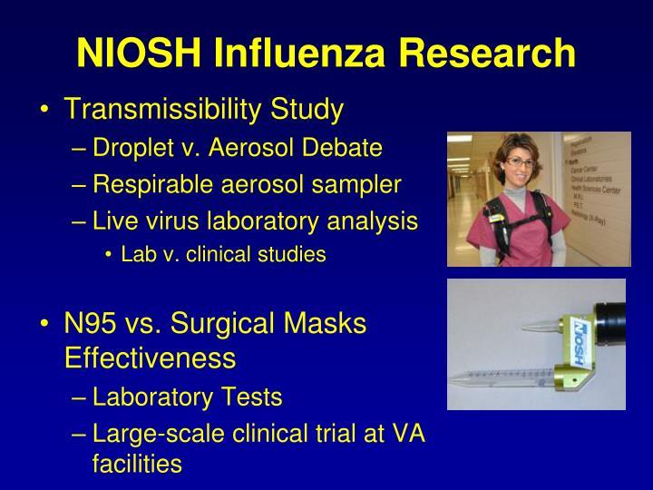 NIOSH Influenza Research