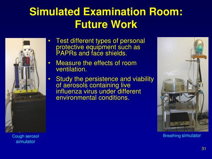Simulated Examination Room: