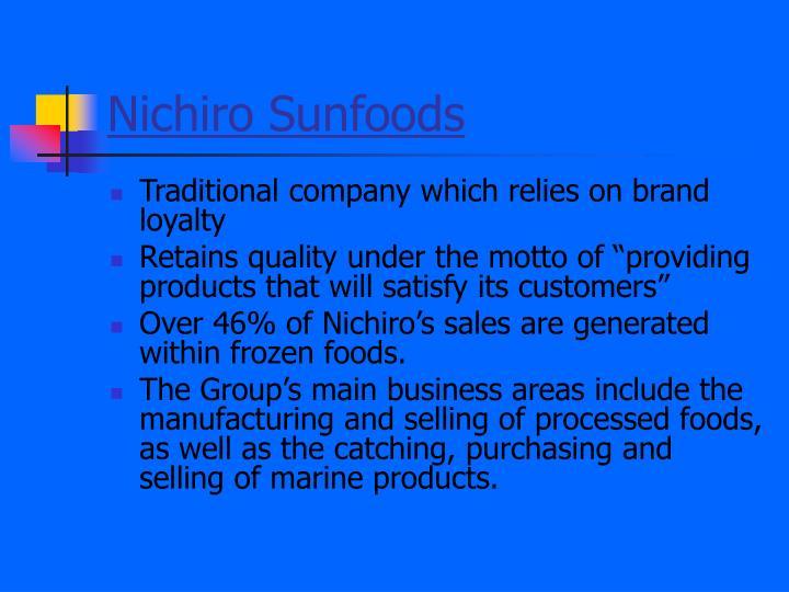 Nichiro Sunfoods