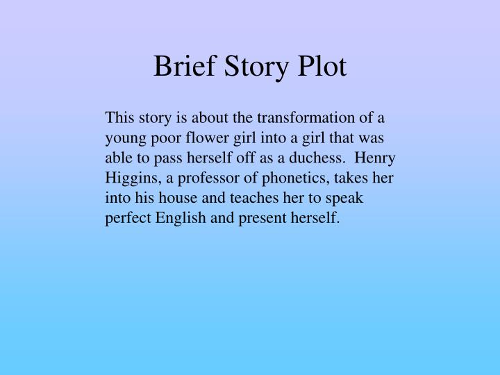 Brief Story Plot