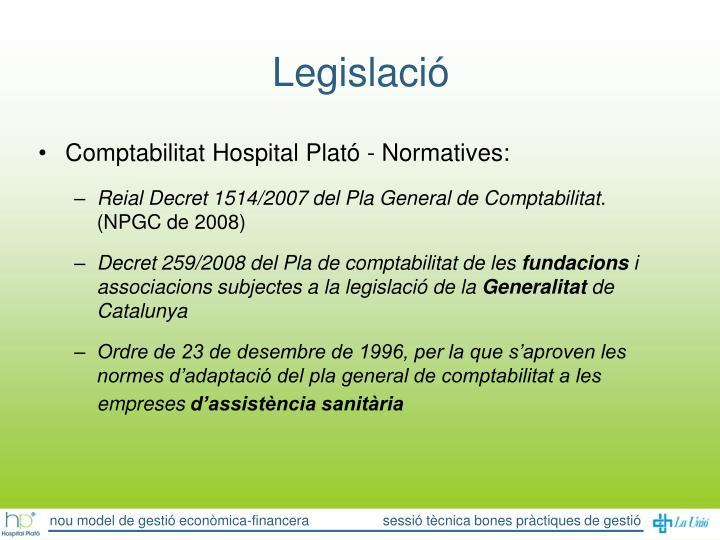 Legislació