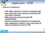 application itsp1