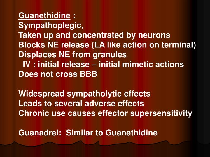 Guanethidine