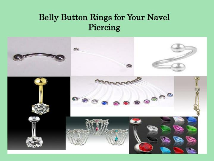 Belly Button Rings for Your Navel Piercing