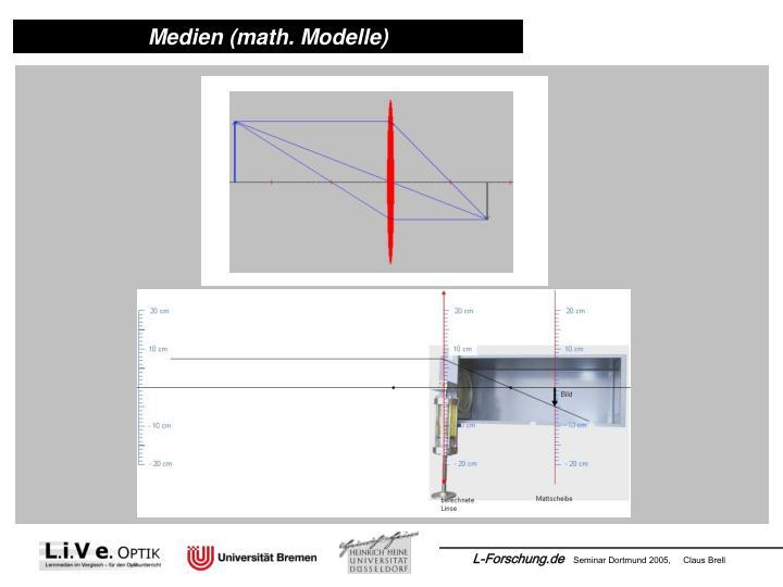 Medien (math. Modelle)