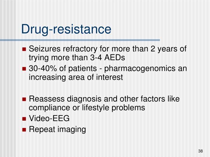 Drug-resistance