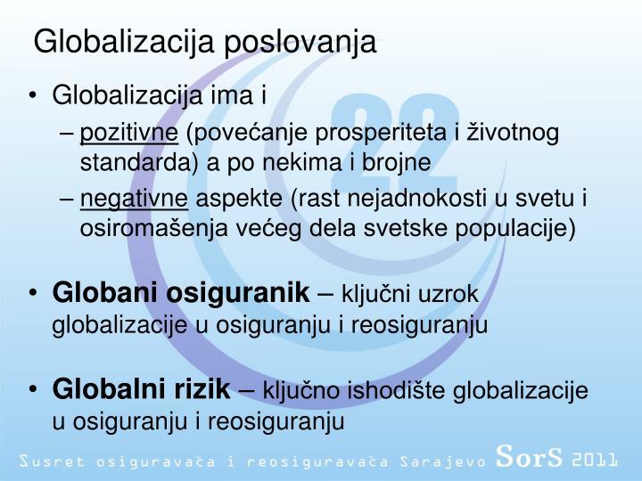 Globalizacija poslovanja