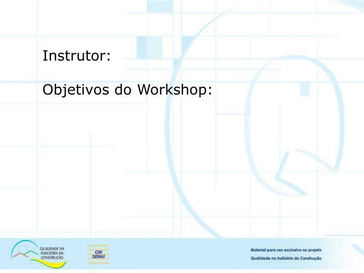 Instrutor: