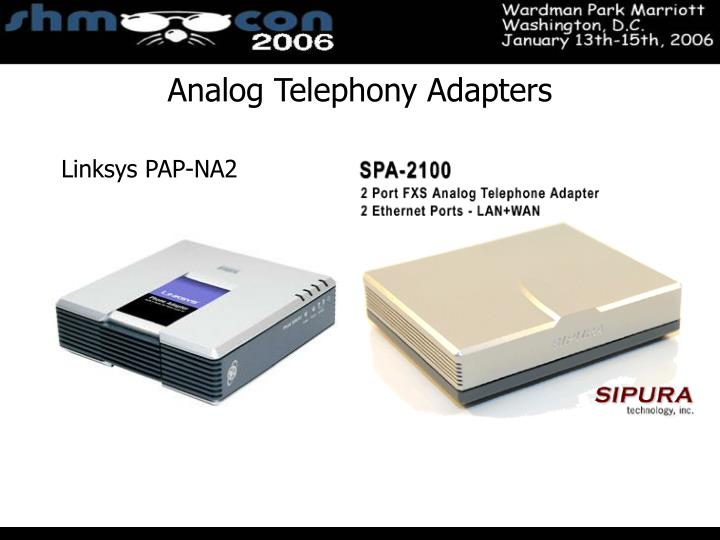 Linksys PAP-NA2
