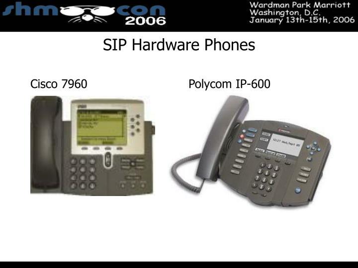 SIP Hardware Phones