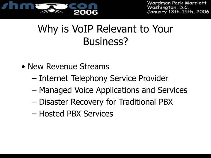 Why is VoIP Relevant to Your Business?
