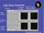 lab view controls
