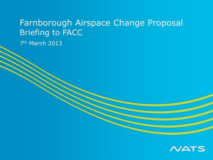 farnborough airspace change proposal