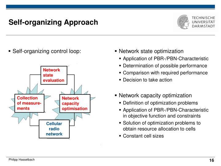 Self-organizing control loop: