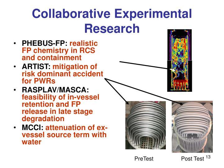Collaborative Experimental Research
