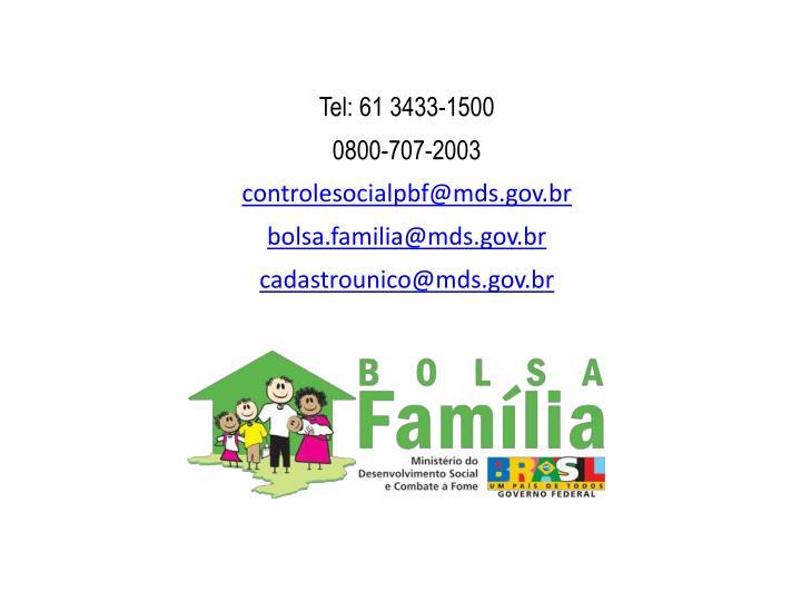 Tel: 61 3433-1500