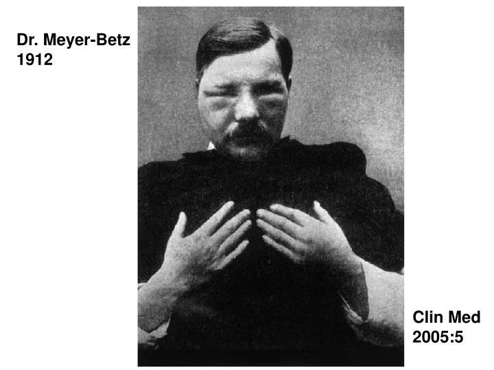 Dr. Meyer-Betz