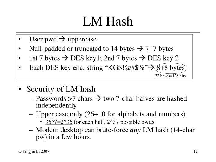 LM Hash