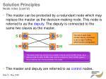 solution principles node roles cont d