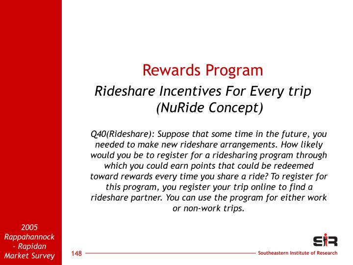 Rewards Program