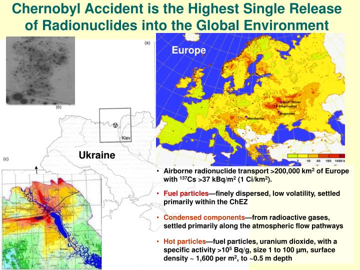 Chernobyl Accident is the Highest Single Release of Radionuclides into the Global Environment