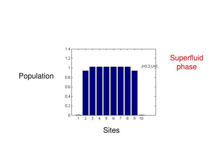 Superfluid phase