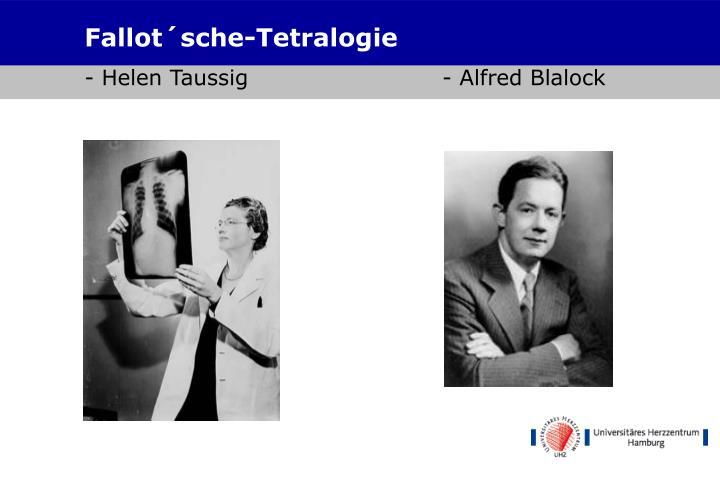 Fallot´sche-Tetralogie