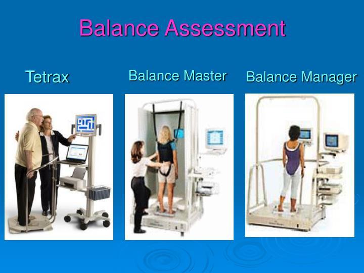 Balance Assessment