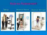balance assessment1