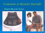 evaluation of muscles strength2