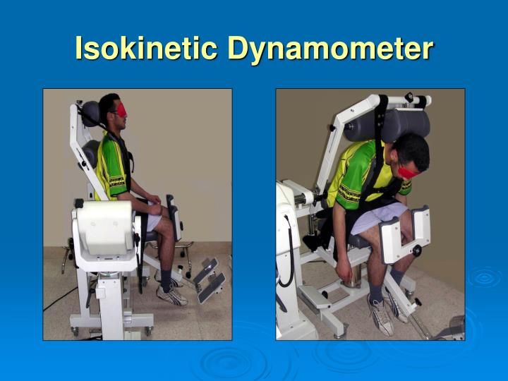 Isokinetic Dynamometer