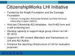 citizenshipworks lhi initiative
