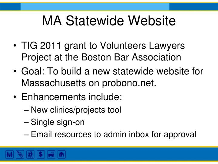 MA Statewide Website