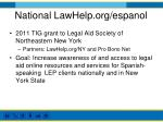 national lawhelp org espanol