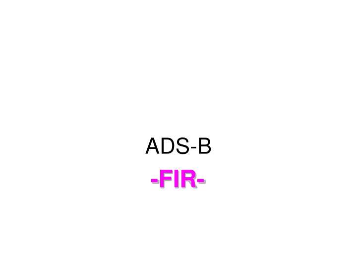 ADS-B
