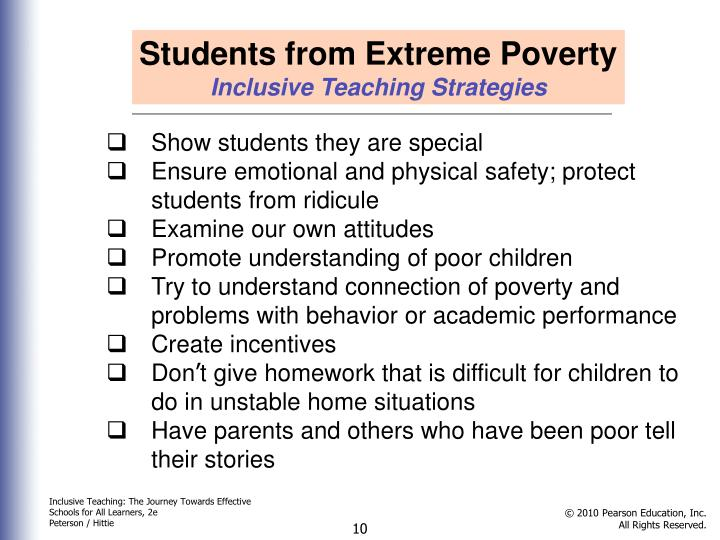 Students from Extreme Poverty