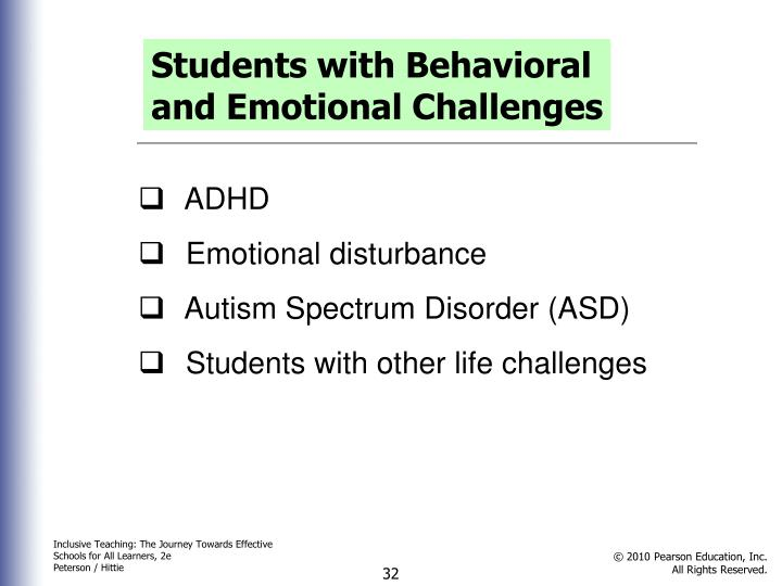 Students with Behavioral