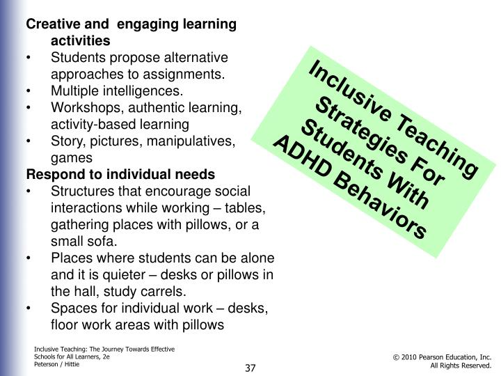Creative and  engaging learning activities