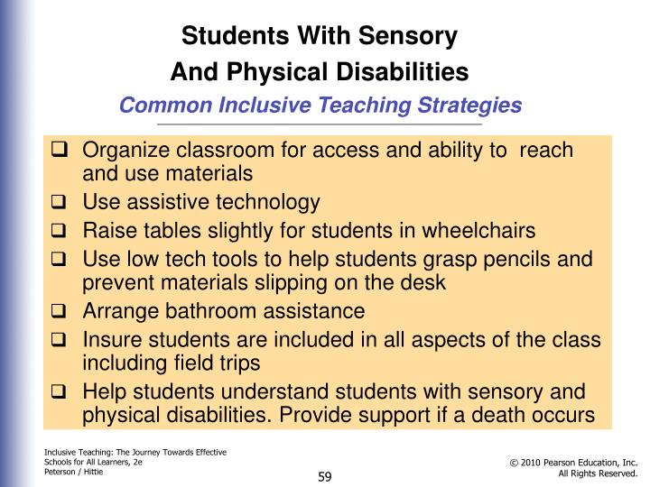 Students With Sensory