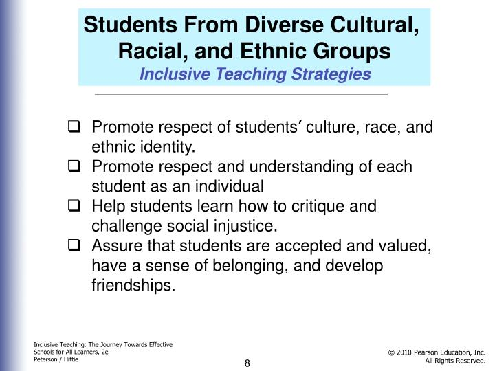 Students From Diverse Cultural,
