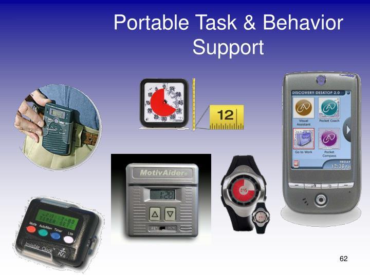 Portable Task & Behavior Support