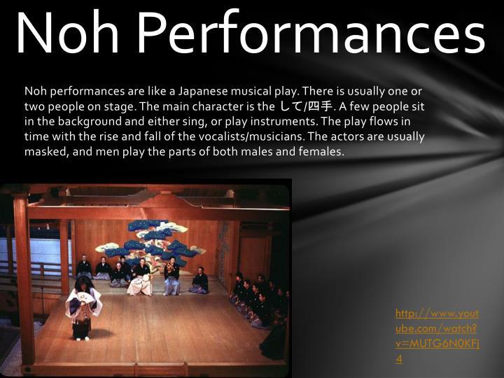 Noh Performances