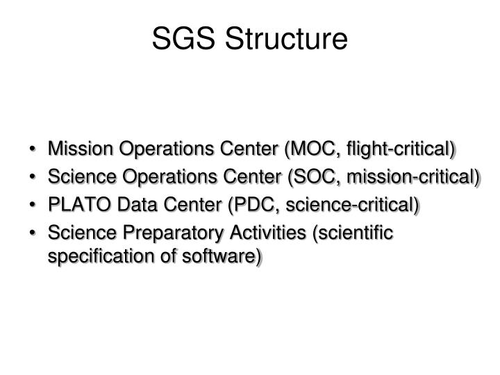 SGS Structure